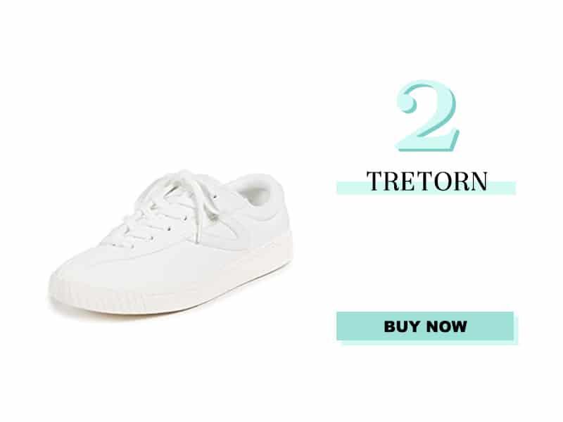 Tretorn white sneaker