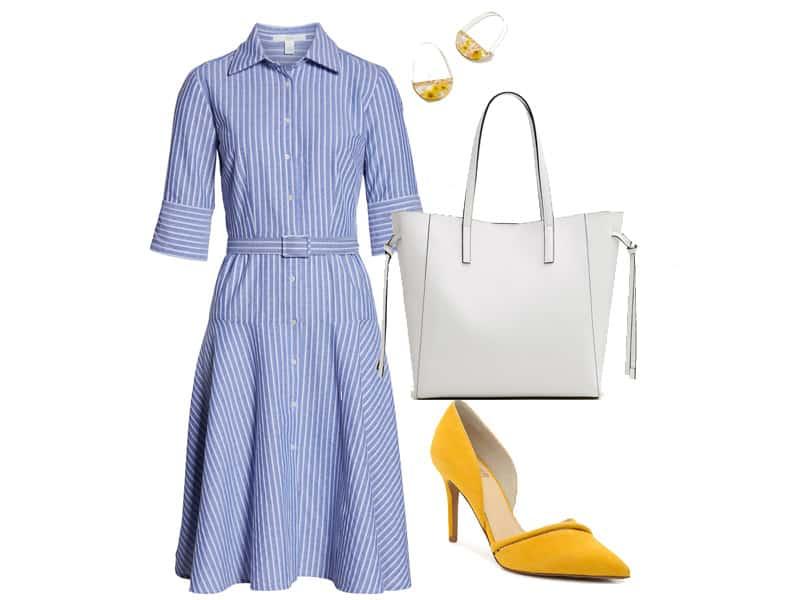 Wear to Work: Shirt Dresses