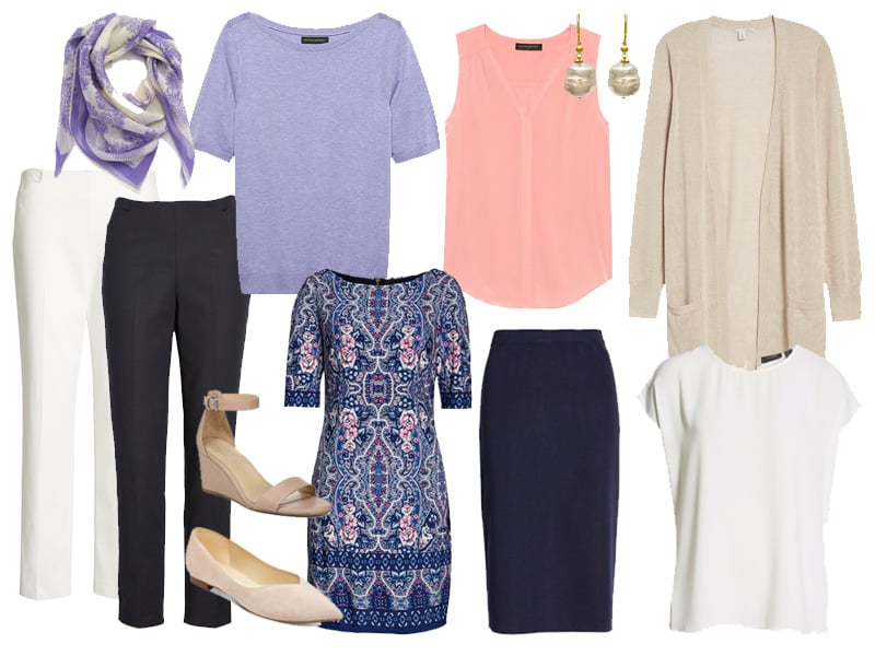 Casual Capsule Wardrobe Outfit Options