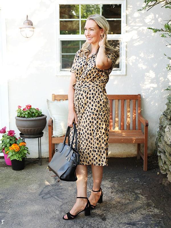 Wear to Work: Leopard Print Dress