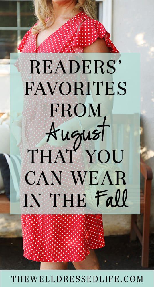 Reader Favorites: August 2019