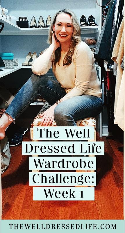 The Fall 2021 Wardrobe Challenge: Week 1