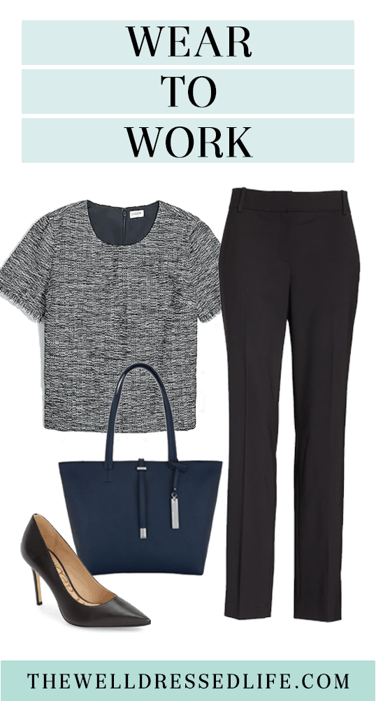 Workwear Wednesday: Fuss-Free Look for the Office