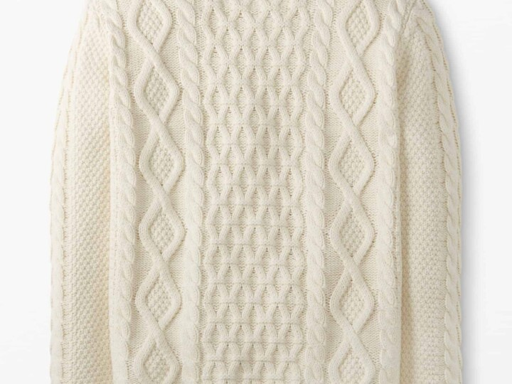 Item of the Week: $60 Cable-Knit Sweater