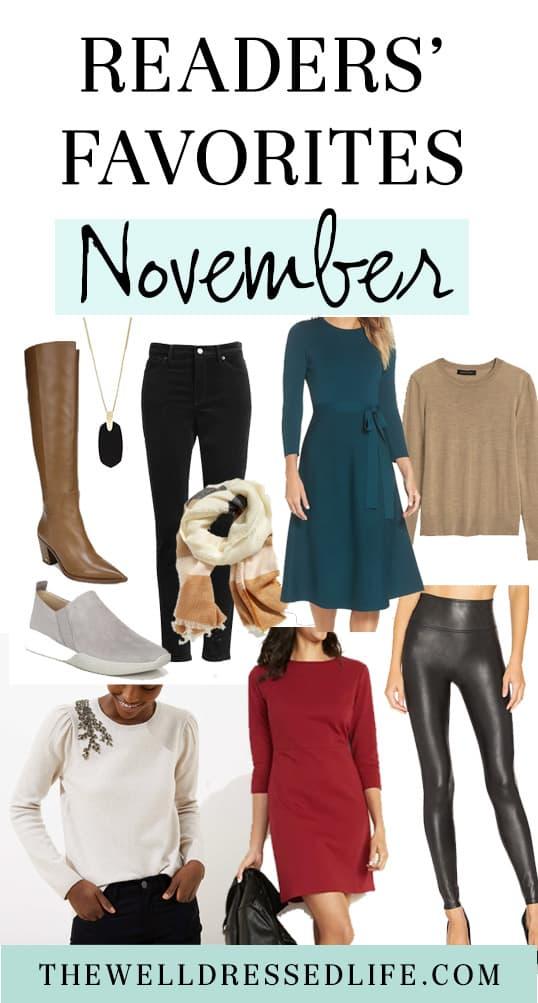 Reader Favorites: November 2019