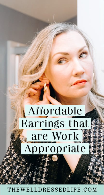 Affordable Earrings that are Work Appropriate