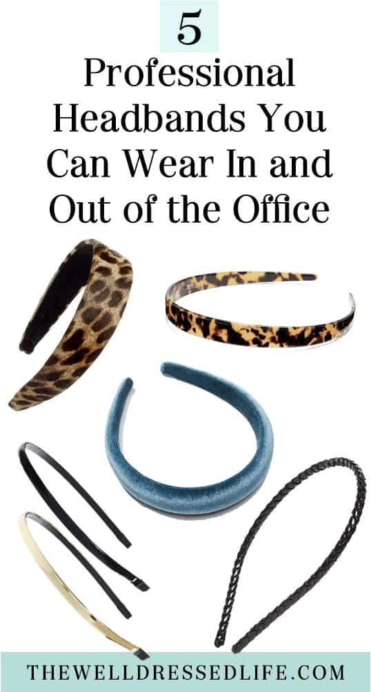 5 Professional Headbands for Women