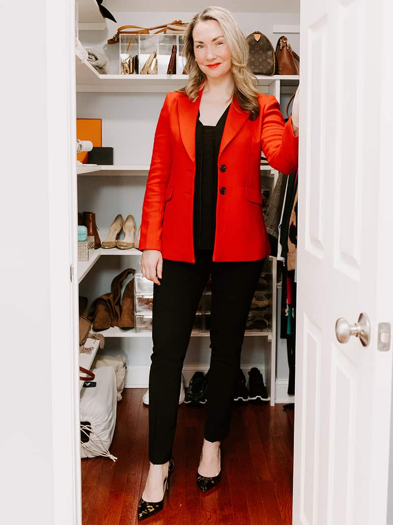 Classic Red Blazers for Work