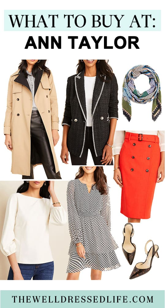 What to Buy At: Ann Taylor