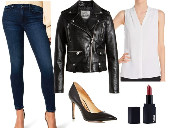 Faux Leather Moto for Under $100