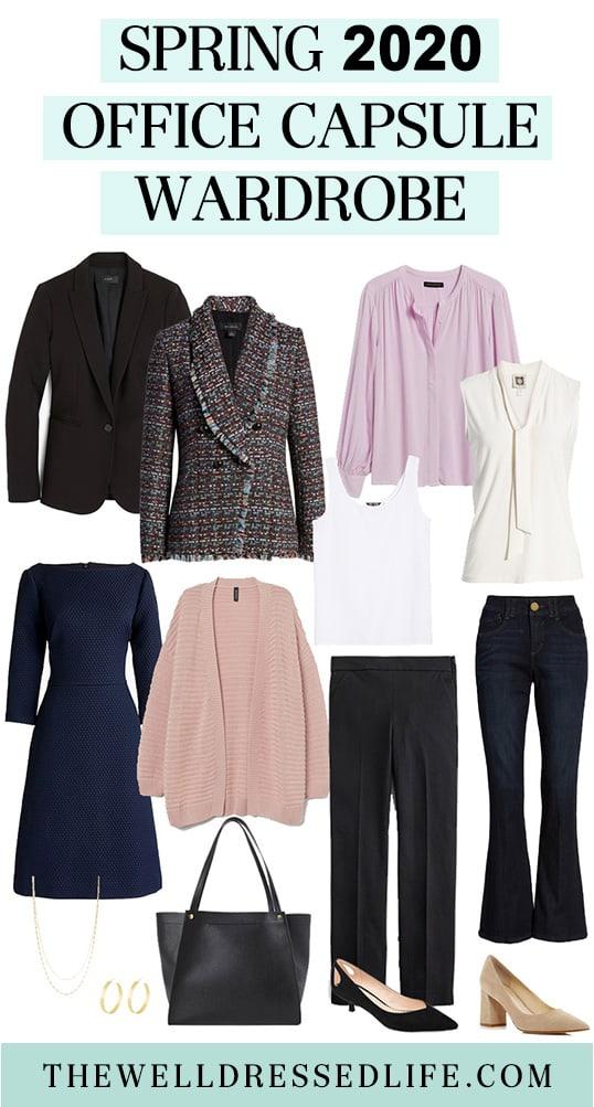 The Spring 2020 Work Capsule Wardrobe