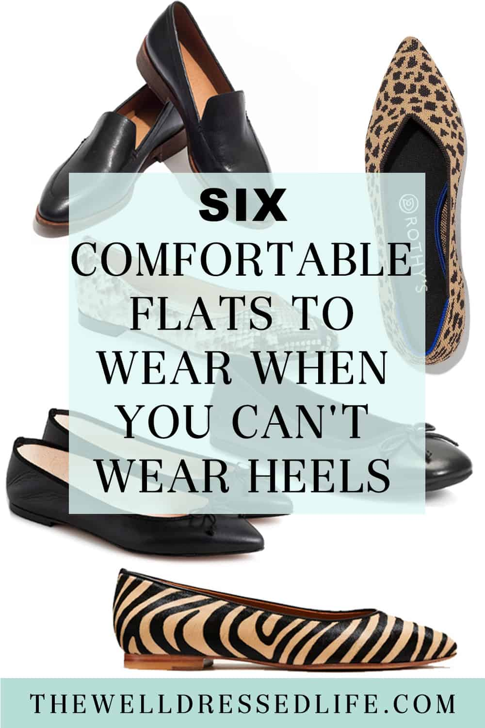 6 Comfortable Flats to Wear When You Can\'t Wear Heels