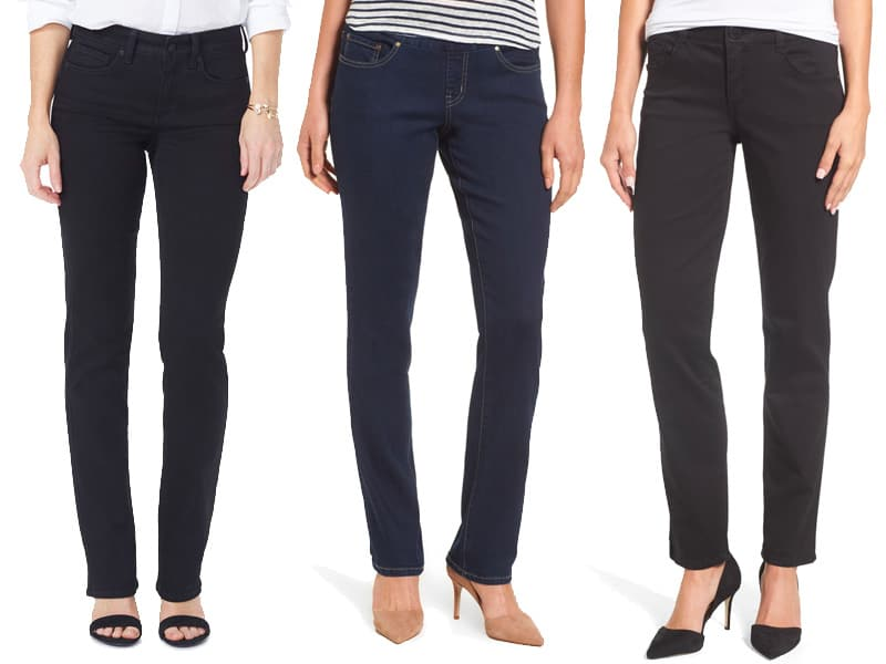 The Best Petite Straight Leg Jeans for Women
