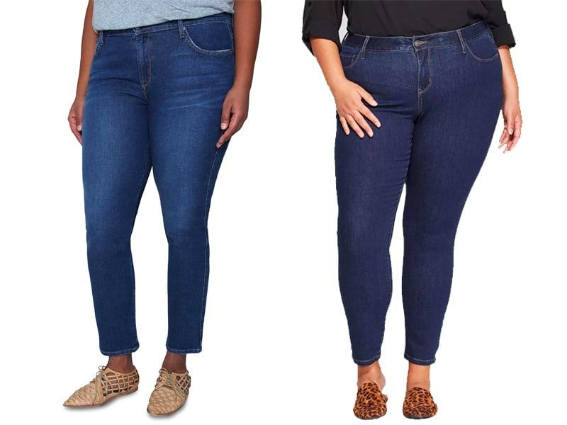 The Best Plus Straight Leg Jeans for Women