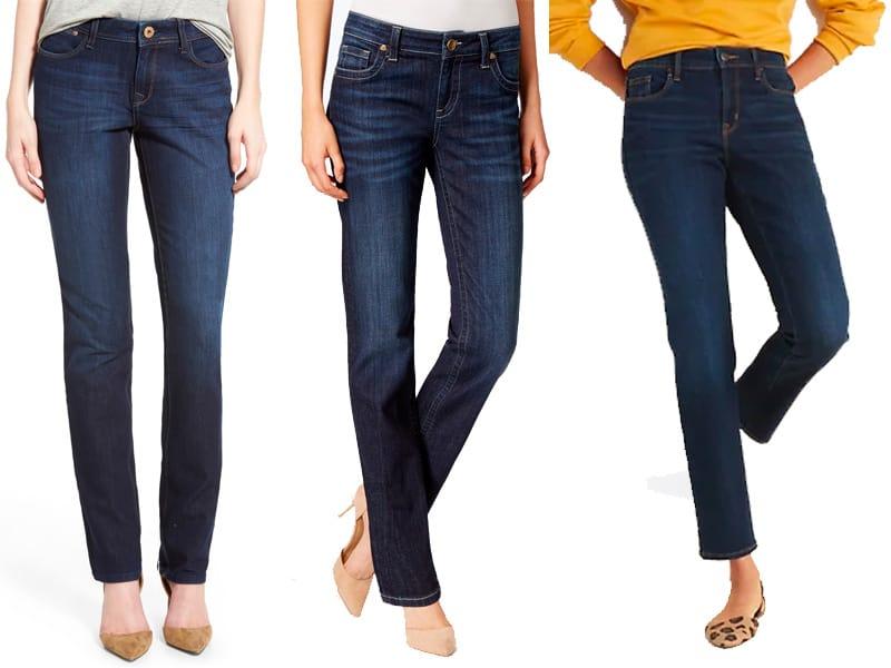 The Best Straight Leg Jeans