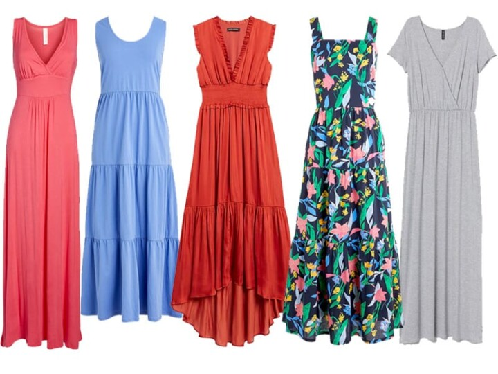 5 Maxi Dresses to Wear Now and Later