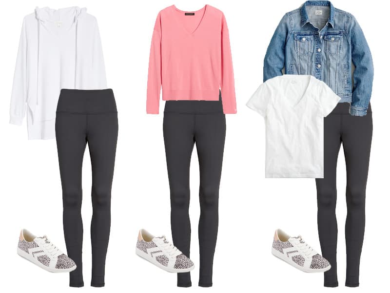 Spring Stay at Home Capsule Wardrobe 2020