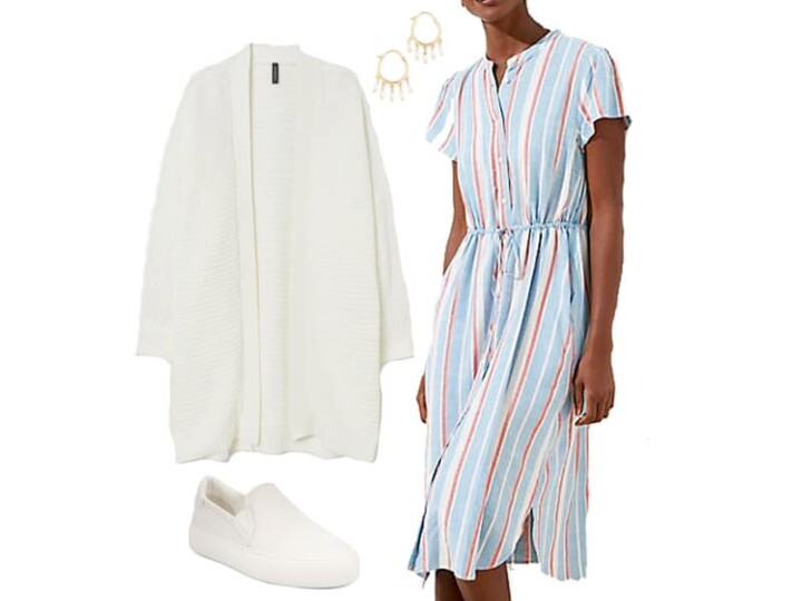 An Easy Spring Dress to Wear Now and Later
