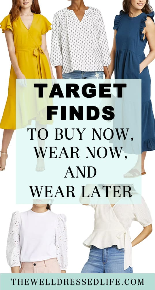 Feminine Target Finds to Wear Now and Later