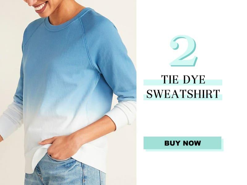 Old Navy Tie Dye Sweatshirt