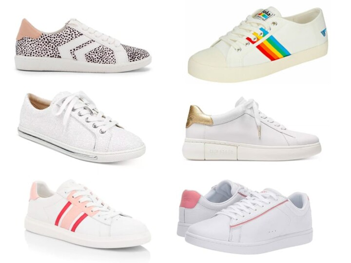 6 Cute Sneakers to Update Your Stay at Home Outfits