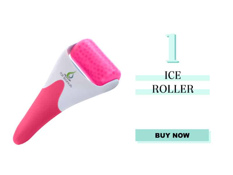 ice roller and face massager