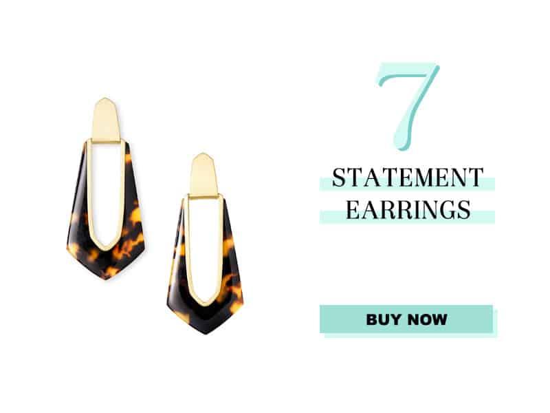 Kendra Scott Statement Earrings