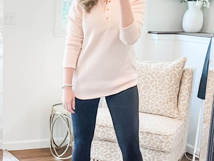 A Perfectly Polished Fleece for Work From Home Days