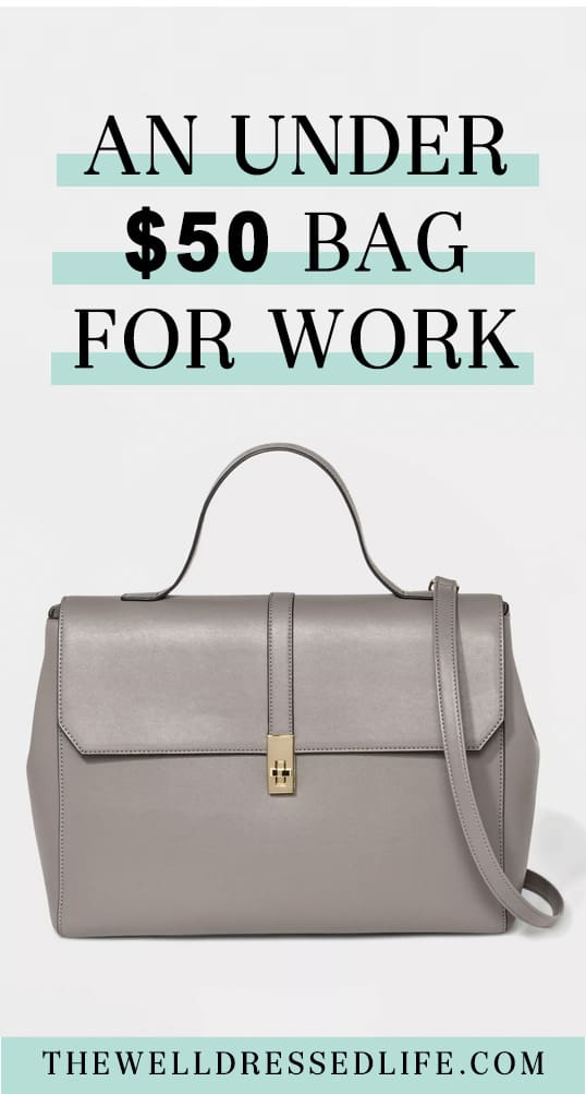 An Under $50 Bag for Work