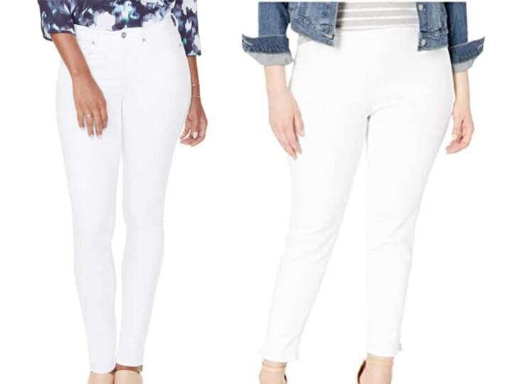 Basics Building: White Jeans