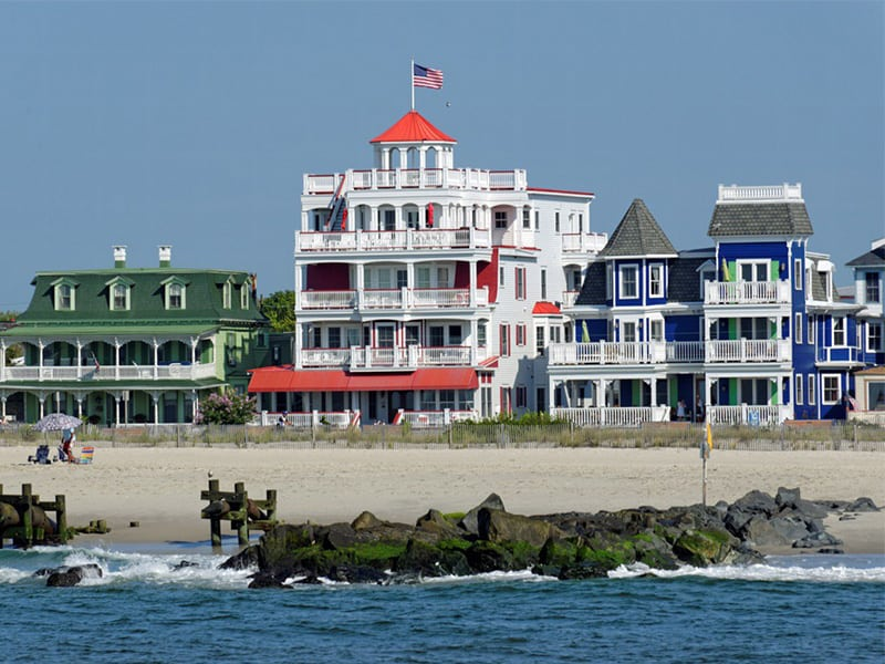 Picture of large oceanfront homes