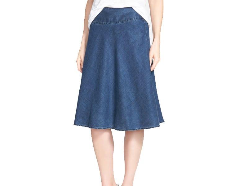 Nic + Zoe Denim Skirt