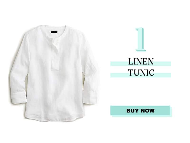 J.Crew Linen Tunic