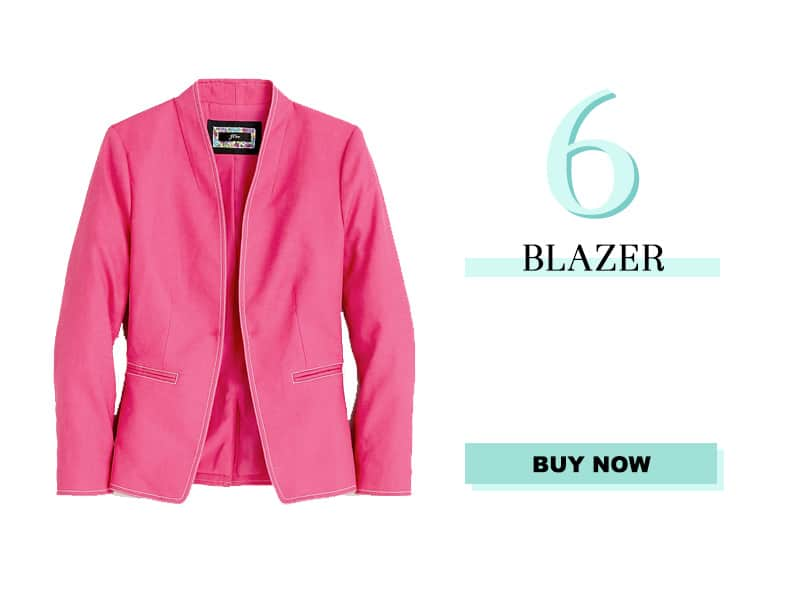 J. Crew Going Out Blazer in Pink