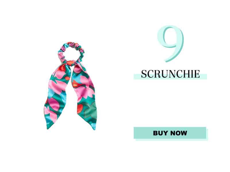 J. Crew Silk Scrunchie