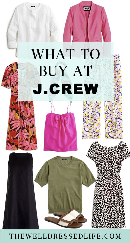 What to Buy at J.Crew Mid Summer