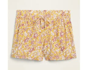 Old Navy Mid-Rise Soft-Woven Pull-On Shorts for Women — 4-inch inseam