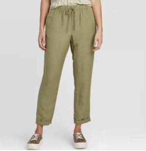 Women's High-Rise Ankle Length Taper Pants – A New Day™
