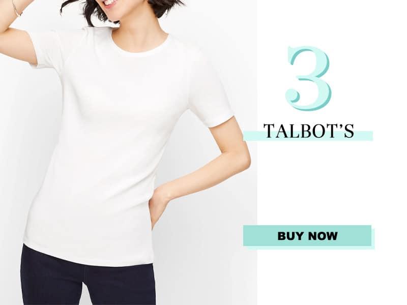 Talbot's White Tee