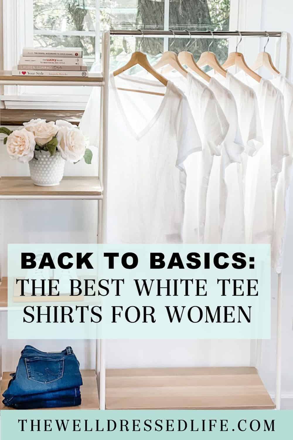 The Best White Tee Shirts for Women
