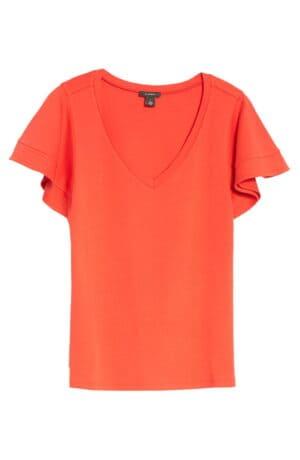 Flutter Sleeve T-Shirt HALOGEN®