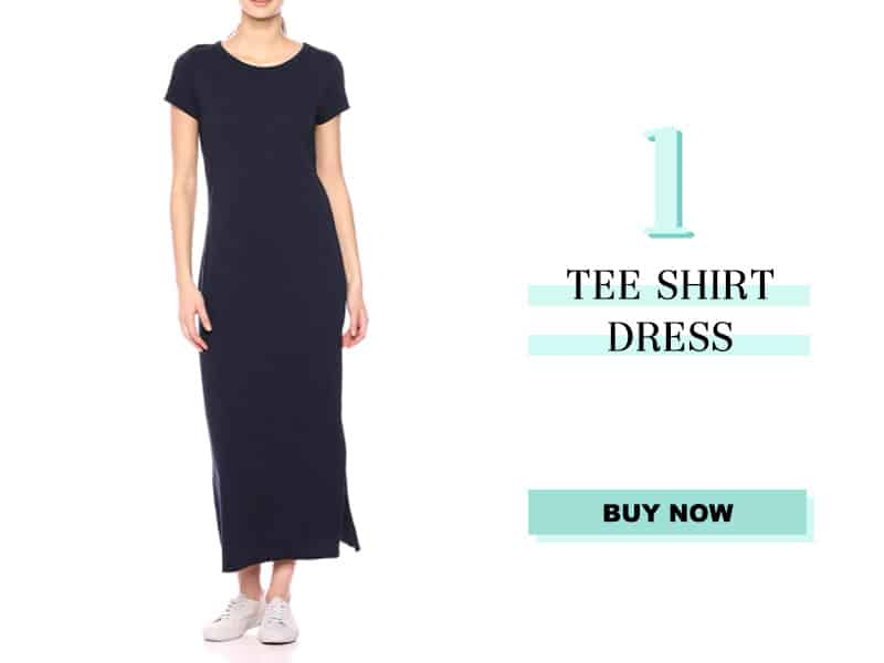 Navy Tee Shirt Dress