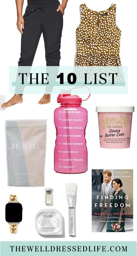 The Ten List: August 2020