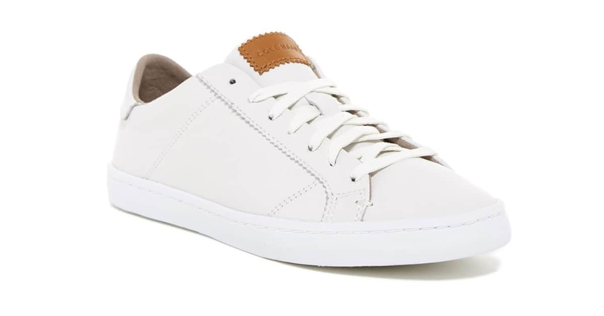 Basic Building: Perfect White Sneakers
