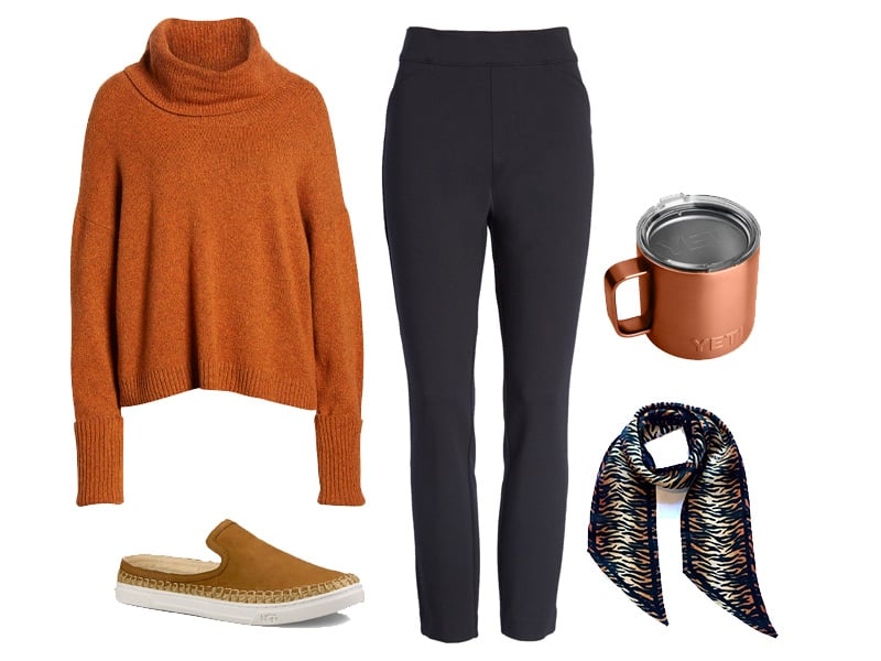 How to Wear Spanx Perfect Black Skinny Pants to Work