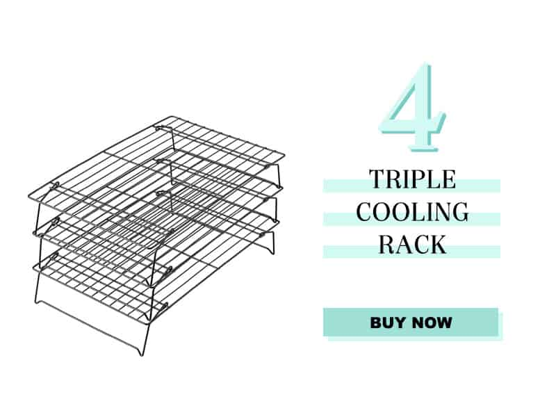 Triple Cooling Rack