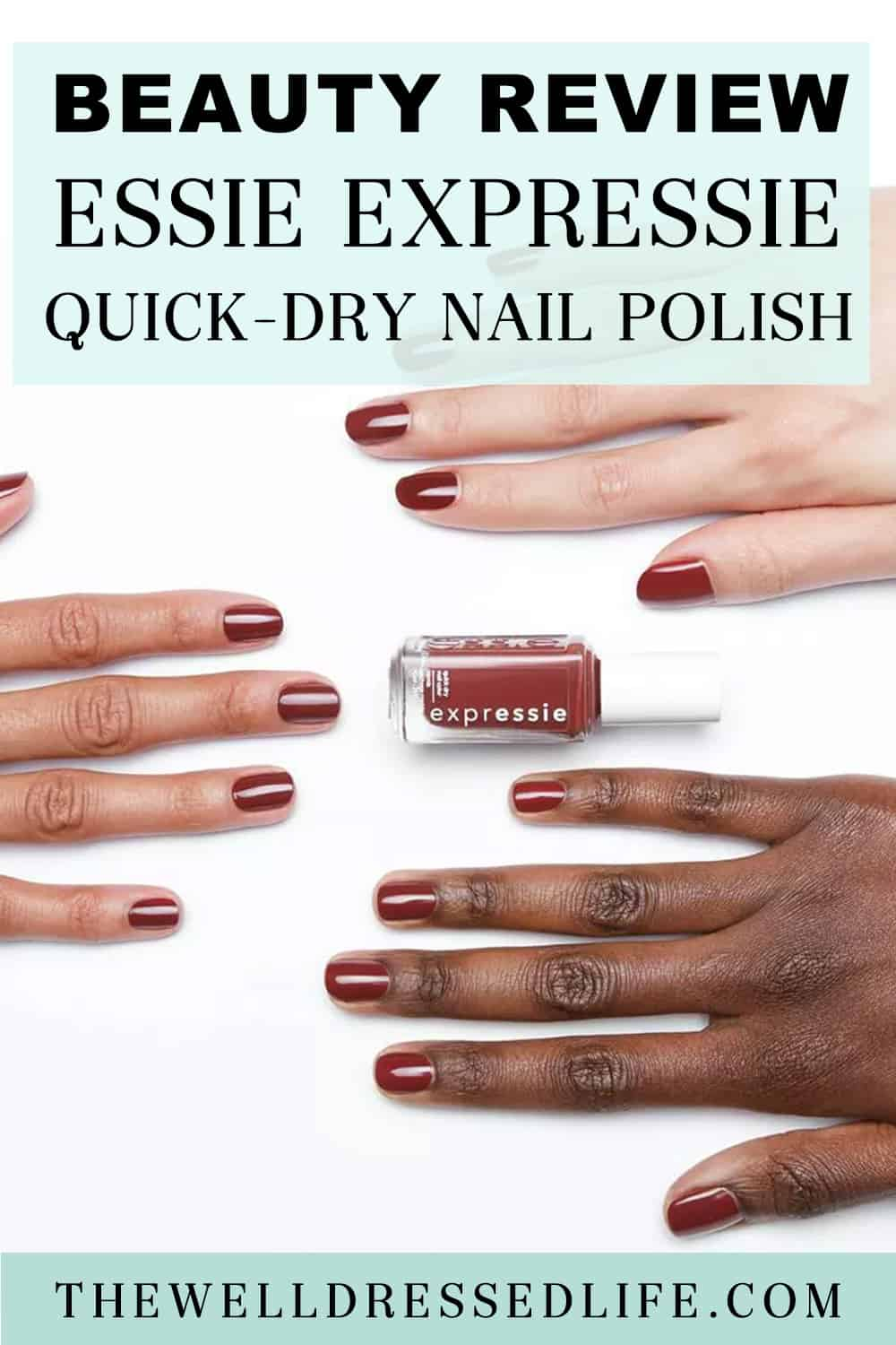 Beauty Review: Essie Expressie Quick Dry Nail Polish