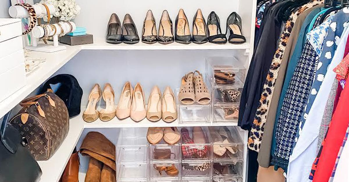 Organize Shoes and Bags in Your Closet