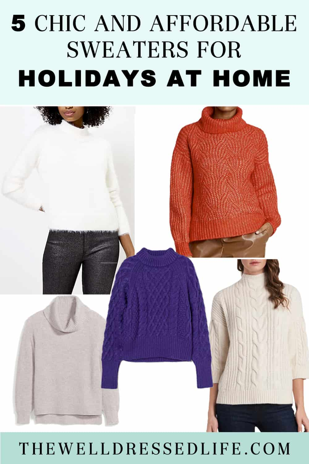 Holidays at Home: Chic and Affordable Sweaters