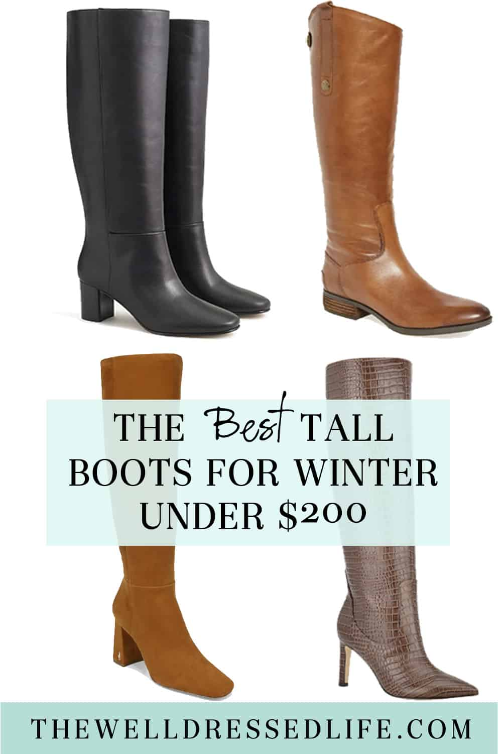 The Best Tall Boots Under $200